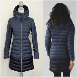 RARE Lululemon 1x A Lady Puffy Jacket Inkwell Navy
